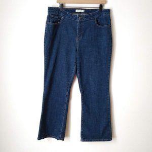 Levi's 580 Dark Wash Boot Cut Jeans